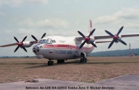 img1018 Antonov An-12B RA-12953 Sakha Avia © Michel Anciaux