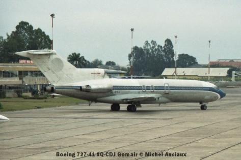 img1031 Boeing 727-41 9Q-CDJ Gomair © Michel Anciaux