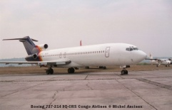 img1033 Boeing 727-214 9Q-CRS Congo Airlines © Michel Anciaux
