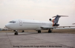 img1034 Boeing 727-214 9Q-CRS Congo Airlines © Michel Anciaux