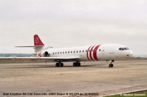 img1036 Sud Aviation SE-210 Caravelle 10B3 Super B 9Q-CPI (n°2) Waltair © Michel Anciaux