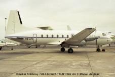 img1045 Hawker Siddeley 748-344 Sr2A TN-AFI Ibis Air © Michel Anciaux