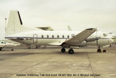 img1045 Hawker Siddeley 748-344 Sr2A TN-AFI Ibis Air © Michel Anciaux