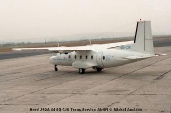 img890 Nord 262A-44 9Q-CJK Trans Service Airlift © Michel Anciaux