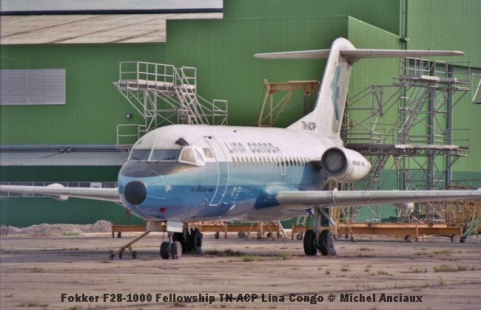 img895 Fokker F28-1000 Fellowship TN-ACP Lina Congo © Michel Anciaux