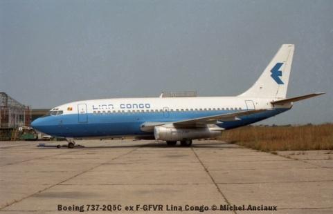 img901 Boeing 737-2Q5C ex F-GFVR Lina Congo © Michel Anciaux