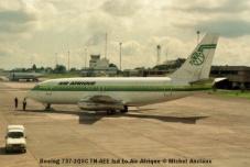 img902 Boeing 737-2Q5C TN-AEE lsd to Air Afrique © Michel Anciaux