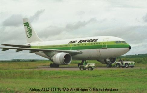 img903 Airbus A310-308 TU-TAD Air Afrique © Michel Anciaux
