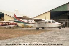 img907 Britten-Norman BN-2A-9 Islander TN-ADY Aero Service © Michel Anciaux