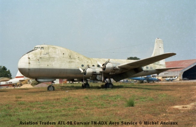 img909 Aviation Traders ATL-98 Carvair TN-ADX Aero Service © Michel Anciaux