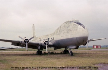 img910 Aviation Traders ATL-98 Carvair TN-ADX Aero Service © Michel Anciaux