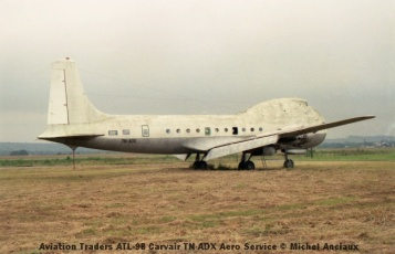 img911 Aviation Traders ATL-98 Carvair TN-ADX Aero Service © Michel Anciaux