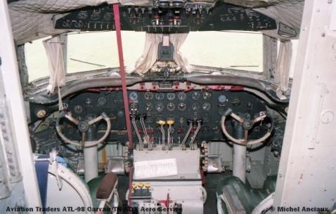 img912 Aviation Traders ATL-98 Carvair TN-ADX Aero Service © Michel Anciaux