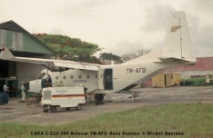 img918 CASA C-212-300 Aviocar TN-AFD Aero Service © Michel Anciaux