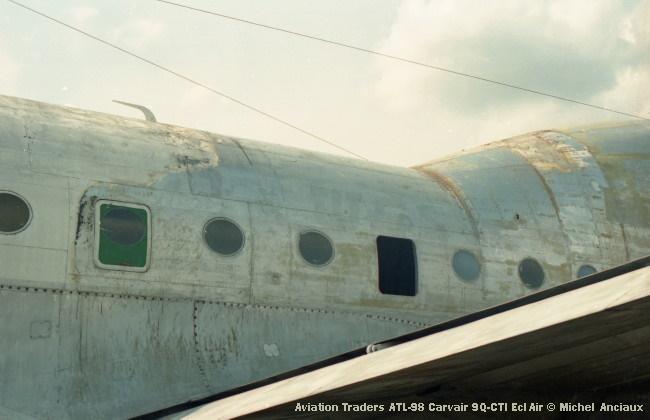 img933 Aviation Traders ATL-98 Carvair 9Q-CTI EclAir © Michel Anciaux