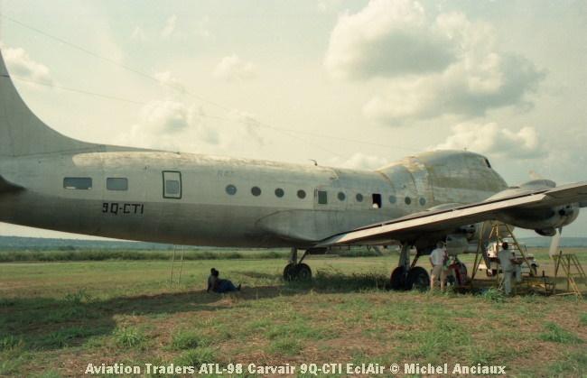 img934 Aviation Traders ATL-98 Carvair 9Q-CTI EclAir © Michel Anciaux