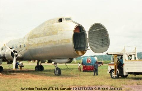 img935 Aviation Traders ATL-98 Carvair 9Q-CTI EclAir © Michel Anciaux