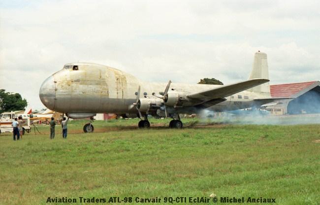 img945 Aviation Traders ATL-98 Carvair 9Q-CTI EclAir © Michel Anciaux