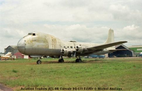 img947 Aviation Traders ATL-98 Carvair 9Q-CTI EclAir © Michel Anciaux