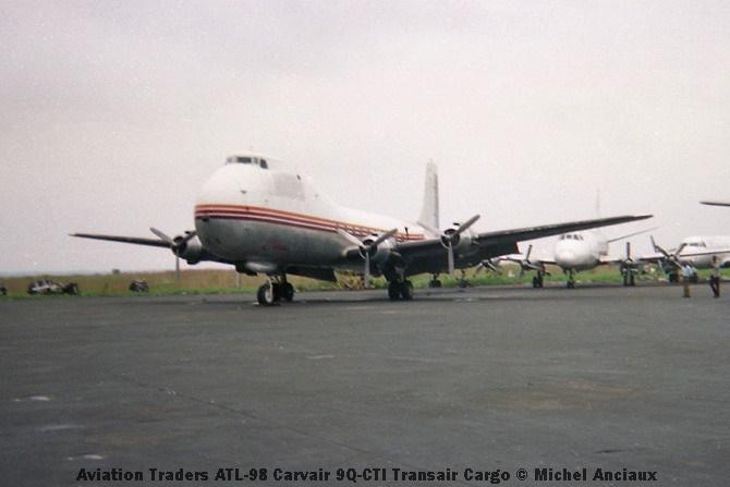img950 Aviation Traders ATL-98 Carvair 9Q-CTI Transair Cargo © Michel Anciaux