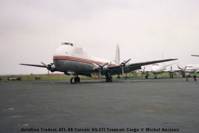 img950 Aviation Traders ATL-98 Carvair 9Q-CTI Transair Cargo © Michel Anciaux