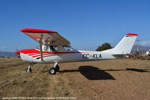 DSC_0013 Cessna 150H CC-KLA Club Aéreo de la Serena © Michel Anciaux