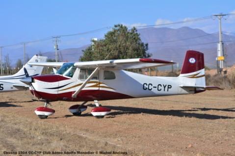 DSC_0049 Cessna 150A CC-CYP Club Aéreo Adolfo Menardier © Michel Anciaux