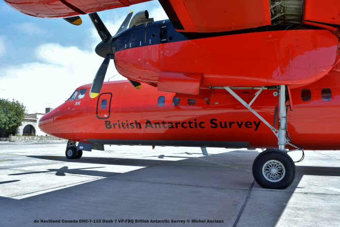 DSC_0055 de Havilland Canada DHC-7-110 Dash 7 VP-FBQ British Antarctic Survey © Michel Anciaux