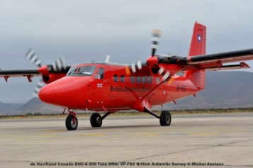 DSC_0056 de Havilland Canada DHC-6-300 Twin Otter VP-FBC British Antarctic Survey © Michel Anciaux