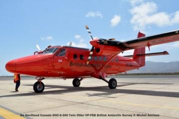 DSC_0076 De Havilland Canada DHC-6-300 Twin Otter VP-FBB British Antarctic Survey © Michel Anciaux