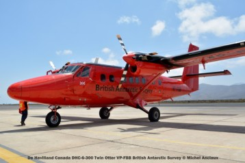 DSC_0076 De Havilland Canada DHC-6-300 Twin Otter VP-FBB British Antarctic Survey © Michel Anciaux