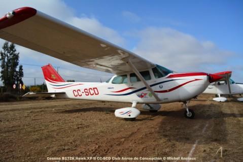 DSC_0085 Cessna R172K Hawk XP II CC-SCD Club Aéreo de Concepcion © Michel Anciaux