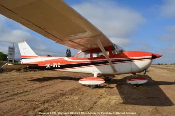 DSC_0098 Cessna 172L Skyhawk CC-SVC Club Aéreo de Valdivia © Michel Anciaux