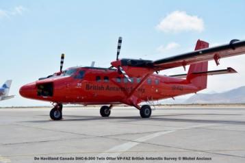 DSC_0112 De Havilland Canada DHC-6-300 Twin Otter VP-FAZ British Antarctic Survey © Michel Anciaux