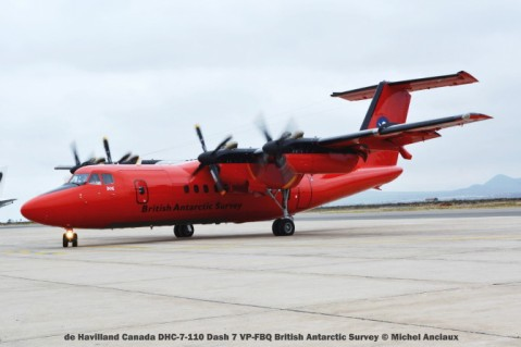 DSC_0120 de Havilland Canada DHC-7-110 Dash 7 VP-FBQ British Antarctic Survey © Michel Anciaux