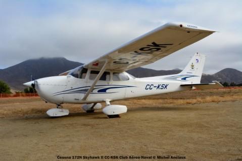 DSC_0140 Cessna 172N Skyhawk II CC-KSK Club Aéreo Naval © Michel Anciaux