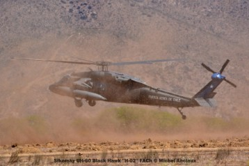 DSC_0200 Sikorsky UH-60 Black Hawk ''H-02'' FACh © Michel Anciaux