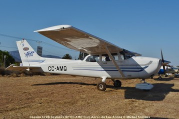 DSC_0840 Cessna 172S Skyhawk SP CC-AMQ Club Aéreo de Los Andes © Michel Anciaux
