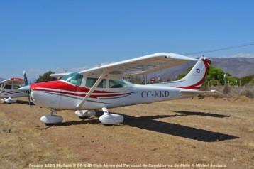 DSC_1018 Cessna 182Q Skylane II CC-KKD Club Aéreo del Personal de Carabineros de Chile © Michel Anciaux