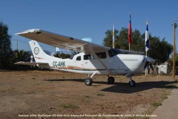 DSC_1019 Cessna 206K Stationair CC-AHK Club Aéreo del Personal de Carabineros de Chile © Michel Anciaux