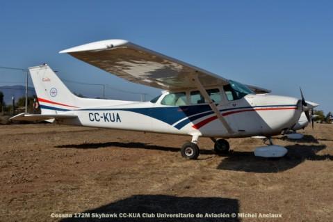 DSC_1023 Cessna 172M Skyhawk CC-KUA Club Universitario de Aviación © Michel Anciaux