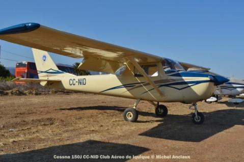 DSC_1054 Cessna 150J CC-NID Club Aéreo de Iquique © Michel Anciaux