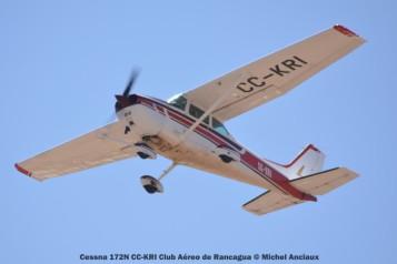 DSC_1233 Cessna 172N CC-KRI Club Aéreo de Rancagua © Michel Anciaux
