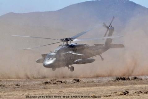 DSC_1433 Sikorsky UH-60 Black Hawk ''H-02'' FACh © Michel Anciaux