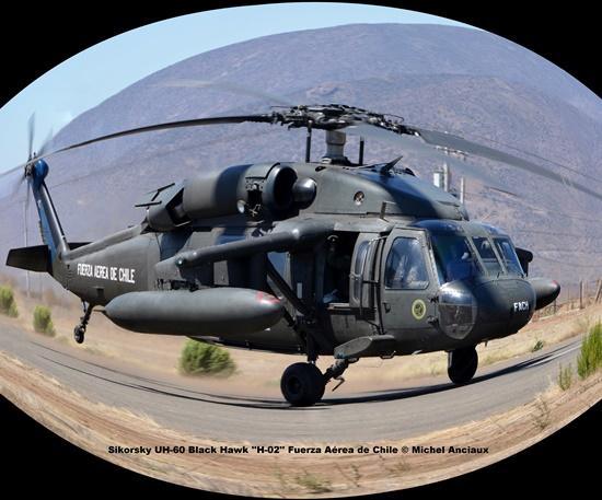 DSC_1481 Sikorsky UH-60 Black Hawk ''H-02'' Fuerza Aérea de Chile © Michel Anciaux