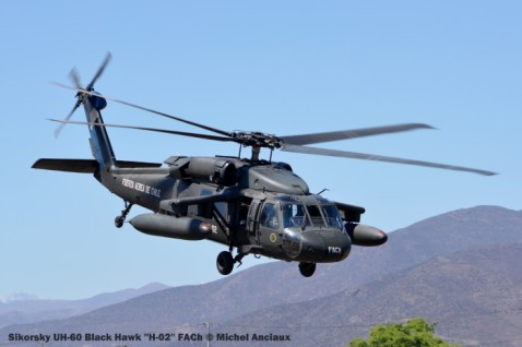DSC_1513 Sikorsky UH-60 Black Hawk ''H-02'' FACh © Michel Anciaux
