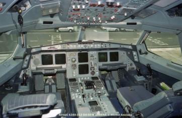 006 Airbus A340-313 OO-SCW SABENA © Michel Anciaux