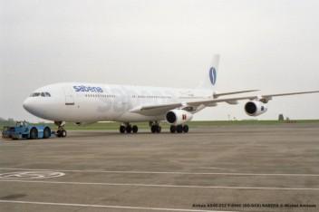 008 Airbus A340-212 F-GNIC (OO-SCX) SABENA © Michel Anciaux