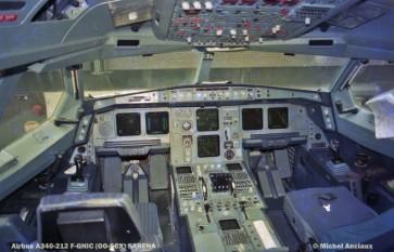 009 Airbus A340-212 F-GNIC (OO-SCX) SABENA © Michel Anciaux