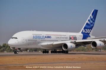 012 Airbus A380 F-WWDD Airbus Industrie © Michel Anciaux